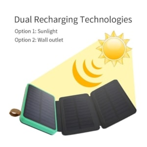 Solar Powerbank Test